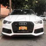 Front splitter / Lip for X-UK RS6 style front bumper upgrade 2015-2018