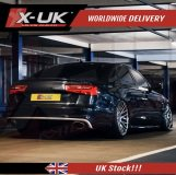RS6 style rear diffuser for Audi A6 NON S-line C7 2011-2015