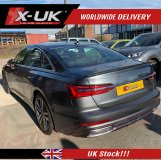 Audi A6 2018-2019 Universal carbon fibre pattern look rear spoiler