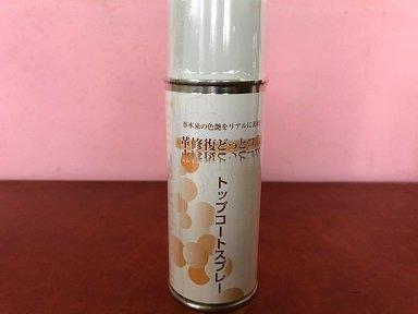 油性コート缶スプレー【ナチュラル】