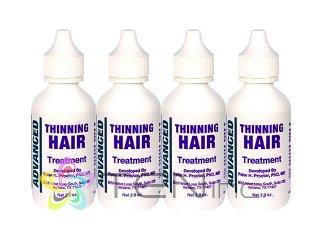 アドバンスドシンニングヘアトリートメント 4ボトル(60ml×4)(USA/e-pelicanMailplus)