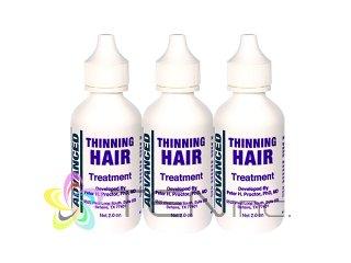 アドバンスドシンニングヘアトリートメント 3ボトル(60ml×3)(USA/e-pelicanMailplus)