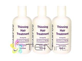 シンニングヘアトリートメントシャンプー 3ボトル(240ml×3)(USA/e-pelicanMailplus)