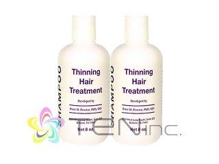 シンニングヘアトリートメントシャンプー 2ボトル(240ml×2)(USA/e-pelicanMailplus)