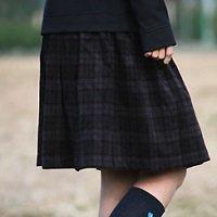 かんたんすっきりギャザースカート(キッズ)