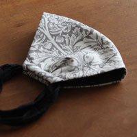 布帛素材を使った立体マスク