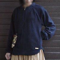 おとなニットジップアップ【A3プリント発送】