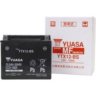 【新品保証付&激安】台湾ユアサ バイクバッテリー(液別密閉) TYTX12-BS