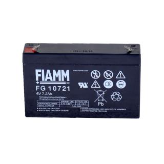 【新品 格安 高品質 低コスト】 小型シールバッテリー FIAMM 【FG10721】