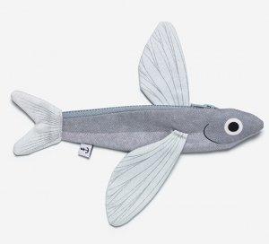 Donfisher ドンフィッシャー ポーチ Flying fish