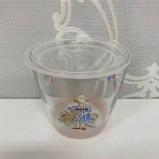 プチメゾン ガラス蓋付プリンカップ