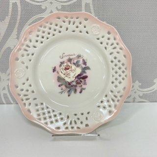 ダミティエ 陶器スカシ皿 L