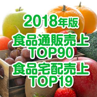 【2018年10月調査】食品通販・宅配売上高ランキング(データ販売)