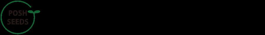 マイクログリーンの種ーPOSH SEEDS