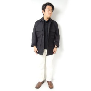 <img class='new_mark_img1' src='https://img.shop-pro.jp/img/new/icons2.gif' style='border:none;display:inline;margin:0px;padding:0px;width:auto;' />DEAD STOCK BDU JACKET BLACK 357