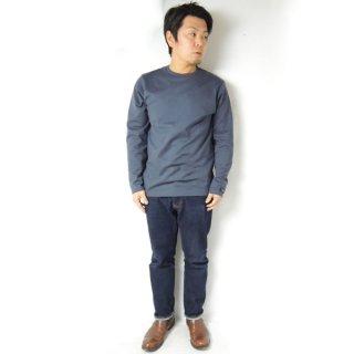 <img class='new_mark_img1' src='https://img.shop-pro.jp/img/new/icons2.gif' style='border:none;display:inline;margin:0px;padding:0px;width:auto;' />HOFI インド超長綿 タック襟長袖Tシャツ