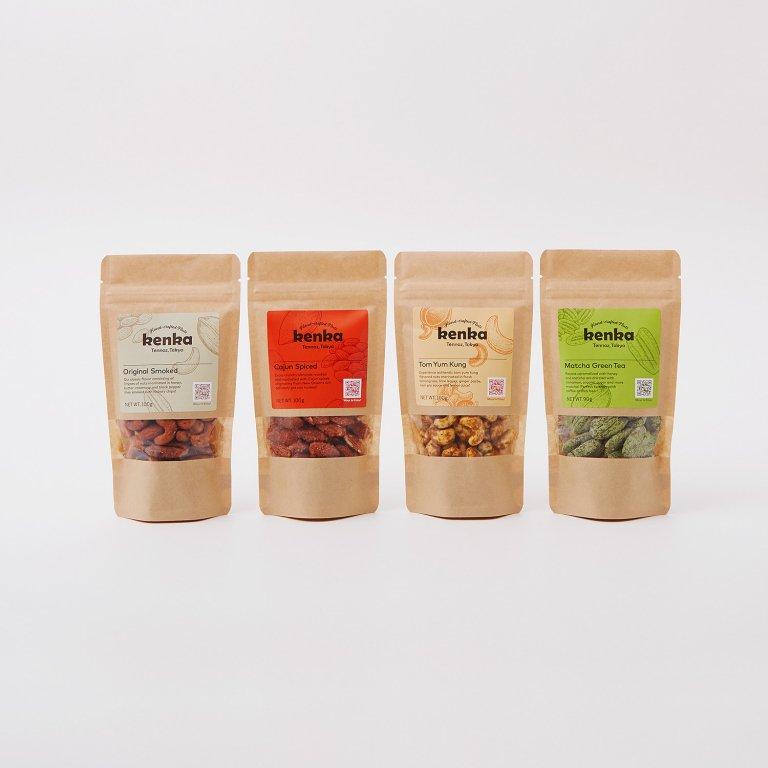 【kenka】定番4種 4袋アソート(100g × 4袋)