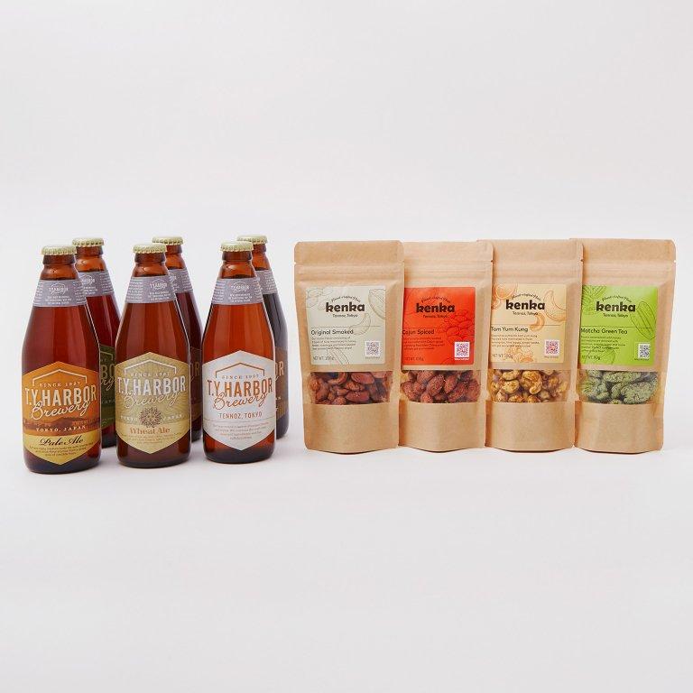 季節限定醸造ビール入6本セット+ kenka4種(各種100G×4)