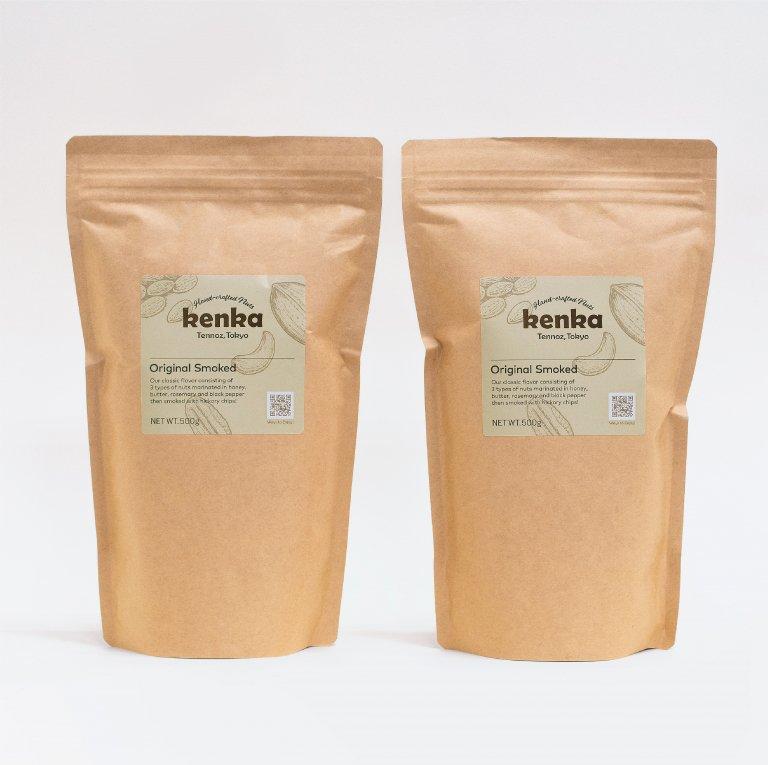 kenkaオリジナルスモーク パーティーバッグ(500g × 2袋)
