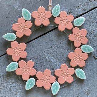 葉桜リース