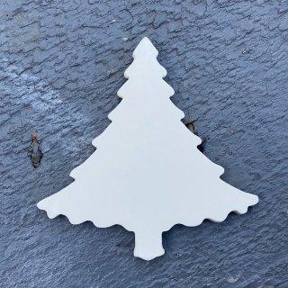 色がぬれる!クリスマスタイル【ツリー(穴なし)】/おまけ蓄光タイル3ヶ/両面テープ付き/リース作りに!【*在庫なしの場合、納期7-10日】