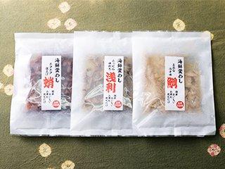 海鮮釜めしの素セット 鯛・蛸・浅利