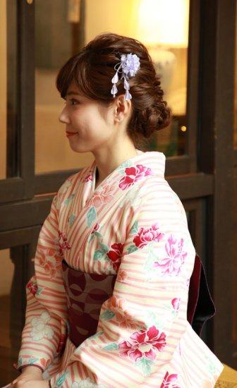 【かんざし 1本】 菊のお花 かんざし 房つき【画像3】