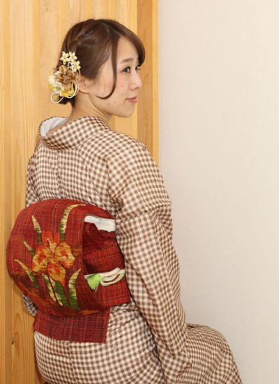 【和装 髪飾り セット】カーネーションの花 髪飾り かんざし クリップ Uピン 5点セット【画像5】