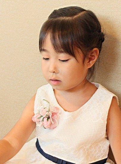 【お揃い 大小2個 セット】 親子 おそろい フラワー ブーケ コサージュ 【画像8】
