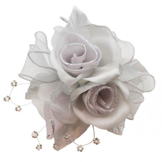【一番人気】上品巻バラのコサージュ クリップ 付き【画像32】
