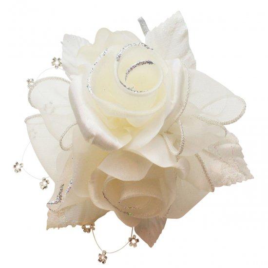 【一番人気】上品巻バラのコサージュ クリップ 付き【画像33】