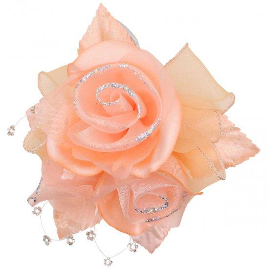 【一番人気】上品巻バラのコサージュ クリップ 付き【画像37】