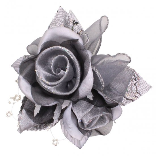 【一番人気】上品巻バラのコサージュ クリップ 付き【画像40】