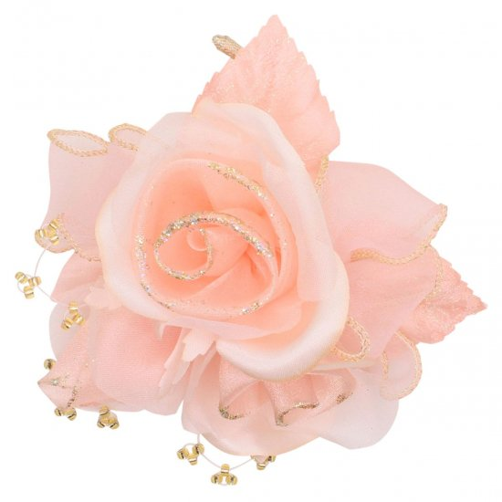 【一番人気】上品巻バラのコサージュ クリップ 付き【画像41】