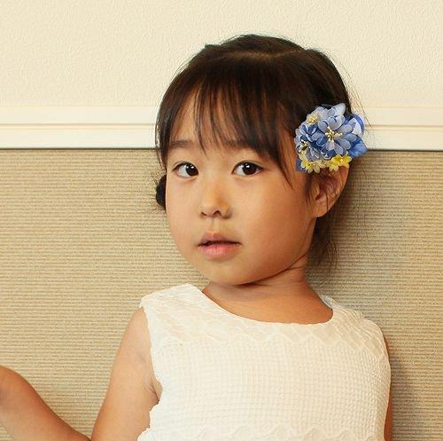 子供 コサージュ | マーガレット キッズ 向け コサージュ 【画像2】