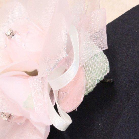 ピンク 三輪 コサージュ ケース付き【画像11】