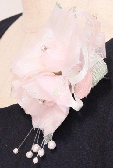 ピンク 三輪 コサージュ ケース付き【画像6】