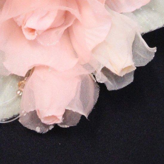 ピンク 小さい バラ コサージュ ケース付き【画像11】