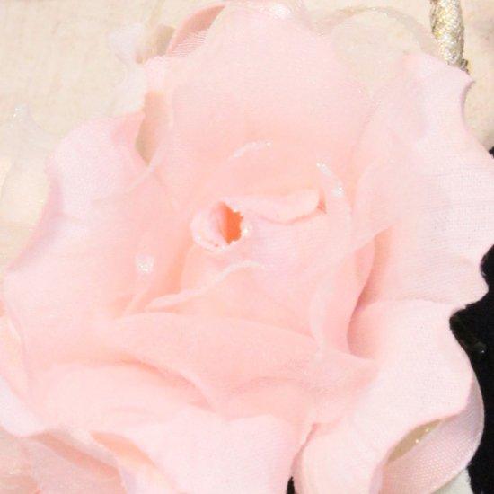 ピンク 小さい バラ コサージュ ケース付き【画像9】