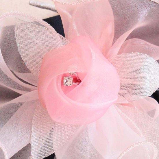 ピンク 大きい パール コサージュ ケース付き【画像8】