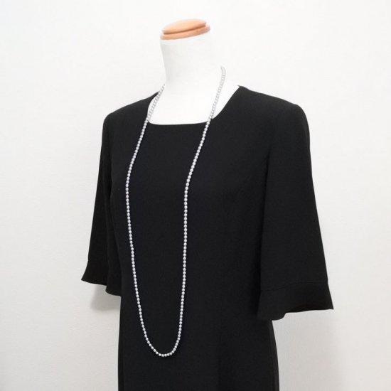 ロングパール パール ネックレス 2色セット 120センチ 6ミリ珠【画像10】