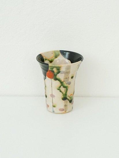 [玉山窯]フリーカップ 黒