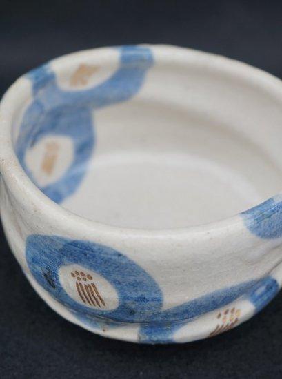 [蔵珍窯]金彩染付 こふく碗
