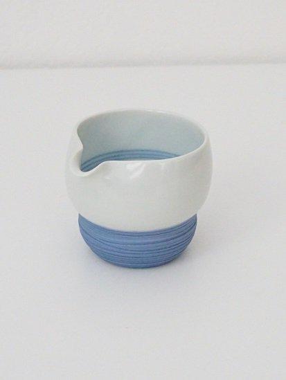 [宝山窯]青彩片口 小