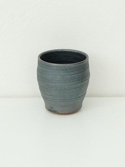[別所窯]黒釉フリーカップ