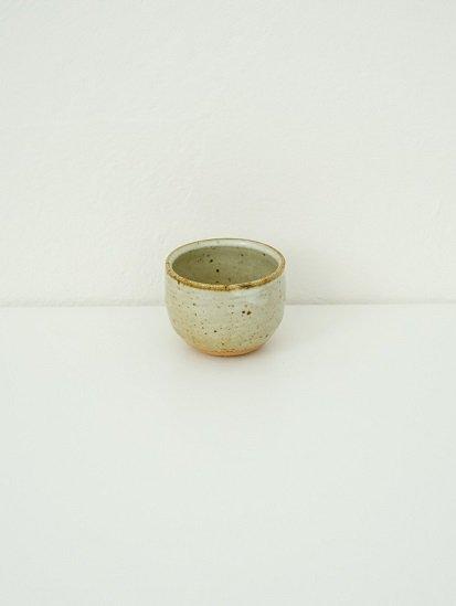 [別所窯]藁灰釉ぐい呑