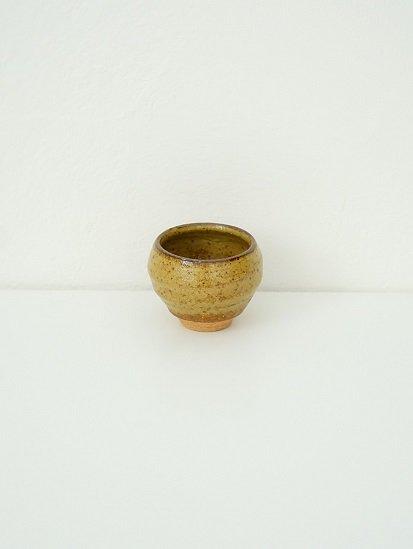 [別所窯]黄灰釉ぐい呑