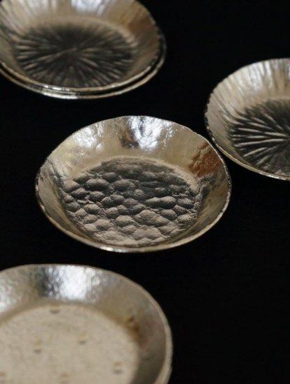 [ 下山普行 ]錫鎚目豆皿#1