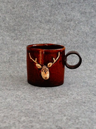 [岡田南央]シカップ 茶#2