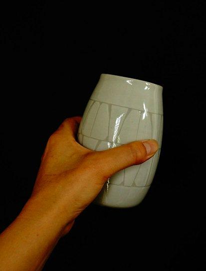 [かもしか道具店]ビールの杯 白
